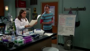 The Big Bang Theory 04x10 : The Alien Parasite Hypothesis- Seriesaddict